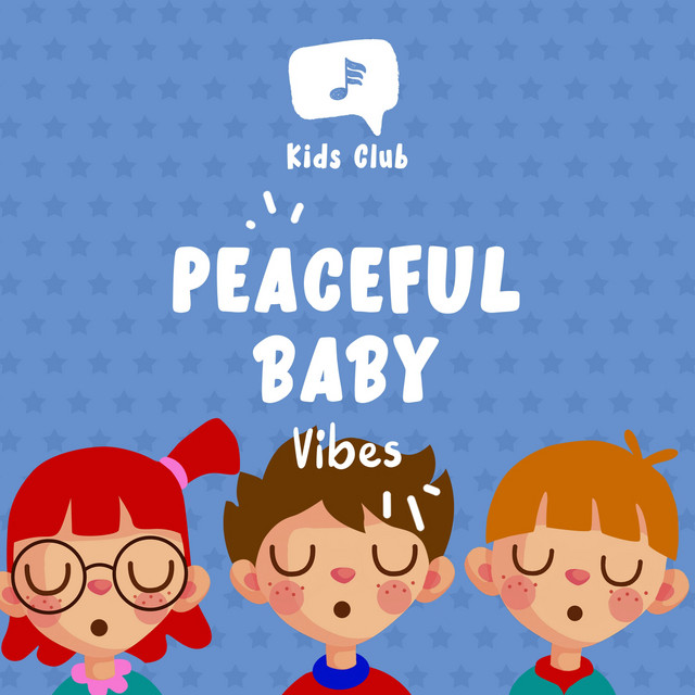 Album cover for Peaceful Baby Vibes by Baby Lullaby