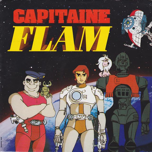 Capitaine Flam: La chevauchée du Capitaine Flam - Single
