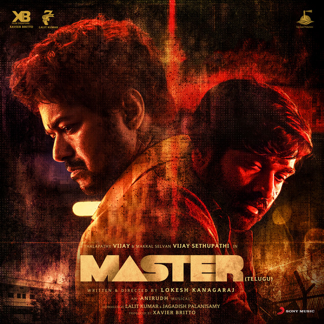 Album cover for Master (Telugu) [Original Motion Picture Soundtrack] by Anirudh Ravichander