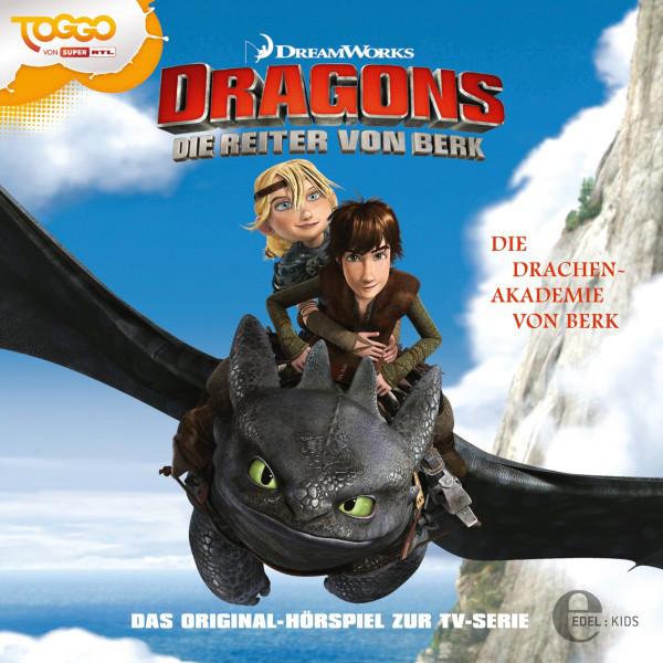Folge 1: Die Drachen-Akademie von Berk  -  Der arbeitslose Wikinger (Das Original-Hörspiel zur TV-Serie) Cover