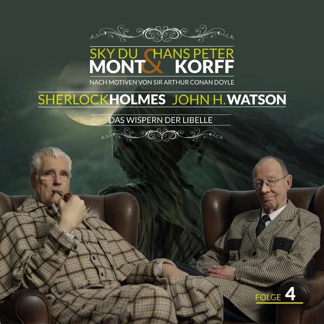Sherlock Holmes und Dr. Watson Teil 4 - Das Wispern der Libelle Cover
