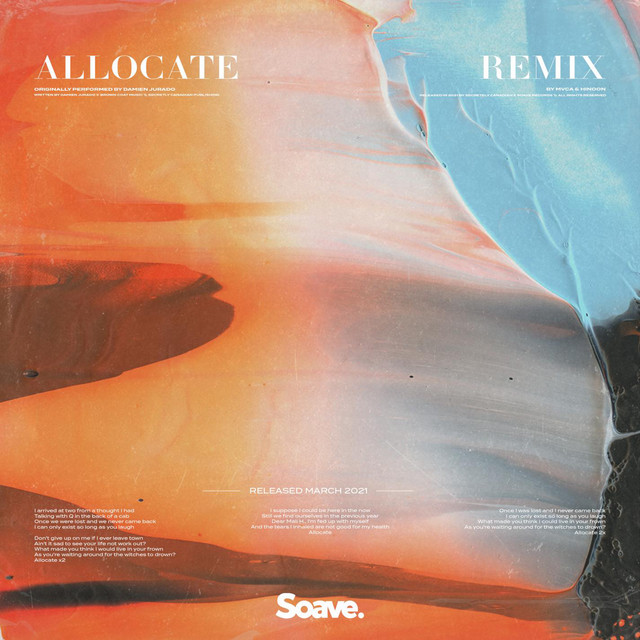 Allocate (MVCA & hinoon Remix) Image