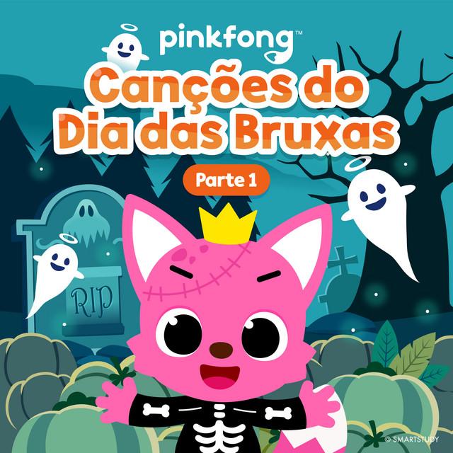 Album cover for Canções Do Dia Das Bruxas (Parte 1) by Pinkfong