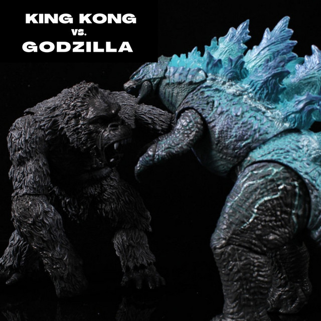King Kong vs. Godzilla by DJ Willy Wow