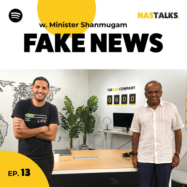 EP 13: The Man Fixing Fake News, with Law Minister K. Shanmugam