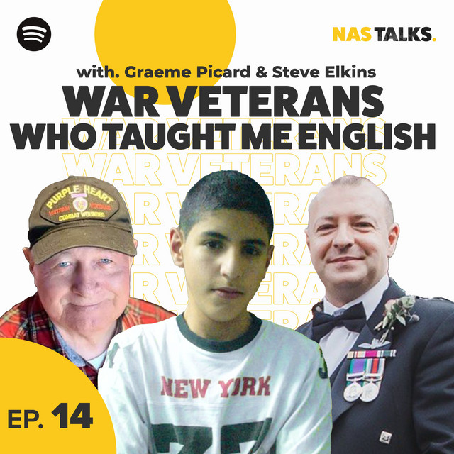 EP 14: The War Veterans Who Taught Me English