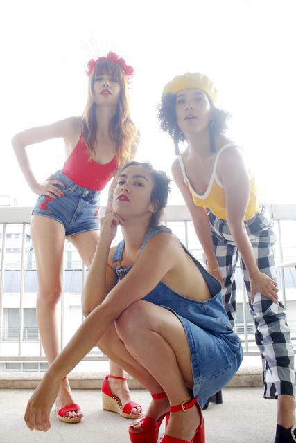 Monki Mozik x The Pigalle Sisterhood