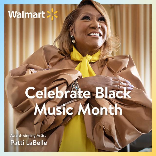 Walmart | Celebrate Black Music Month