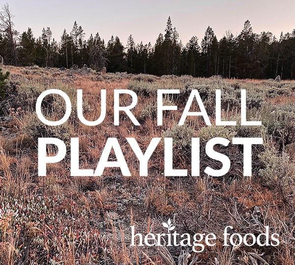 Heritage Foods Fall 2020