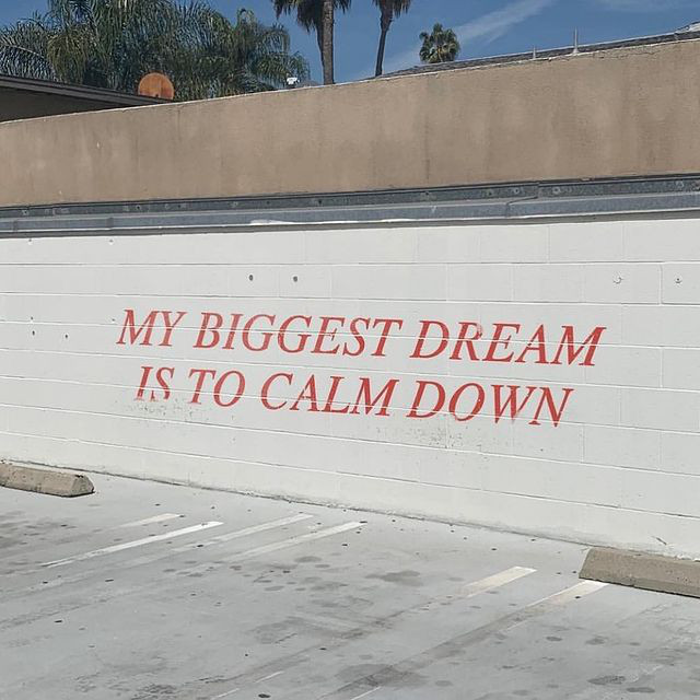 calm tf down