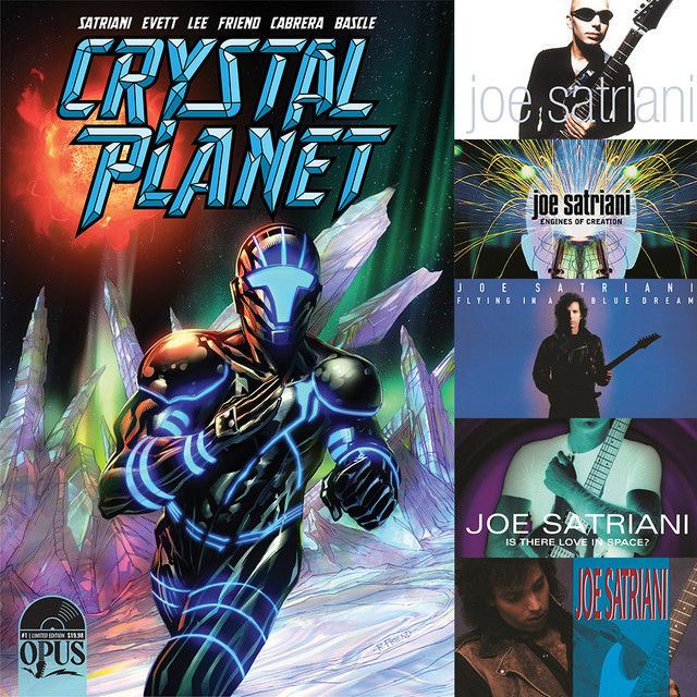 Crystal Planet Comic Issue 1