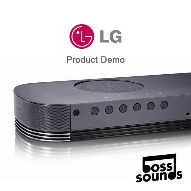 LG - Product Demo, Soundbar