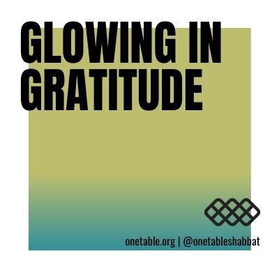 Glowing in Gratitude