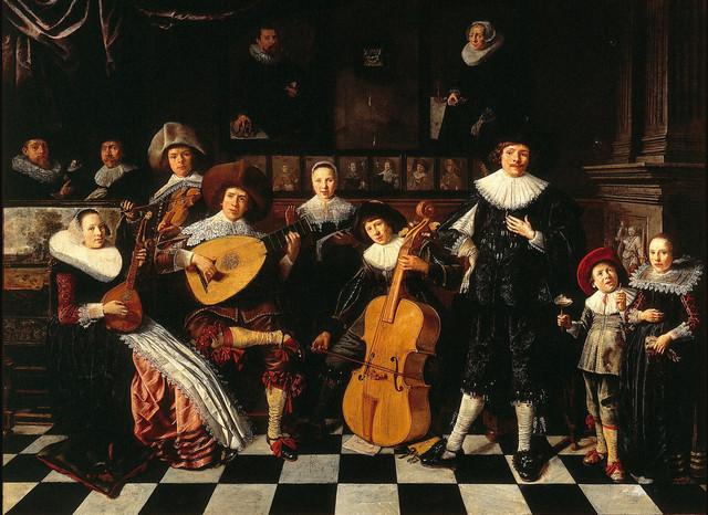 ZCZ Luistercollege Oude Muziek