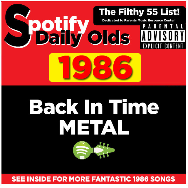Back In Time 1986 Metal