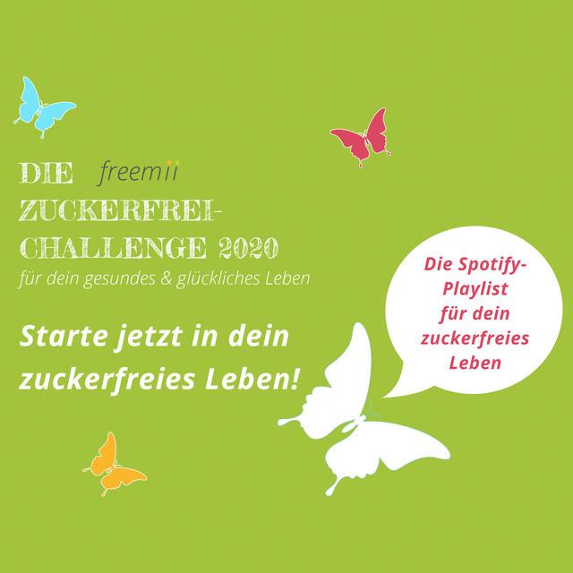 freemii Zuckerfrei-Challenge 2020 - ENTSPANNUNG VISIONBOARD