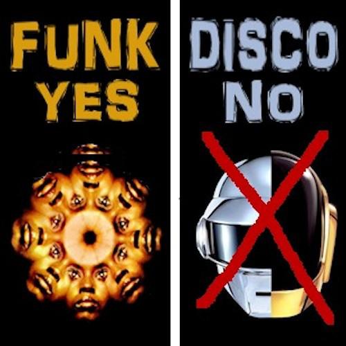 FUNK YES, DISCO NO by soundofus.com