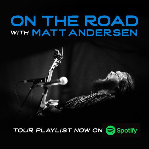 On The Road with Matt Andersen