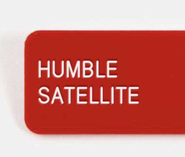 humble satellite.