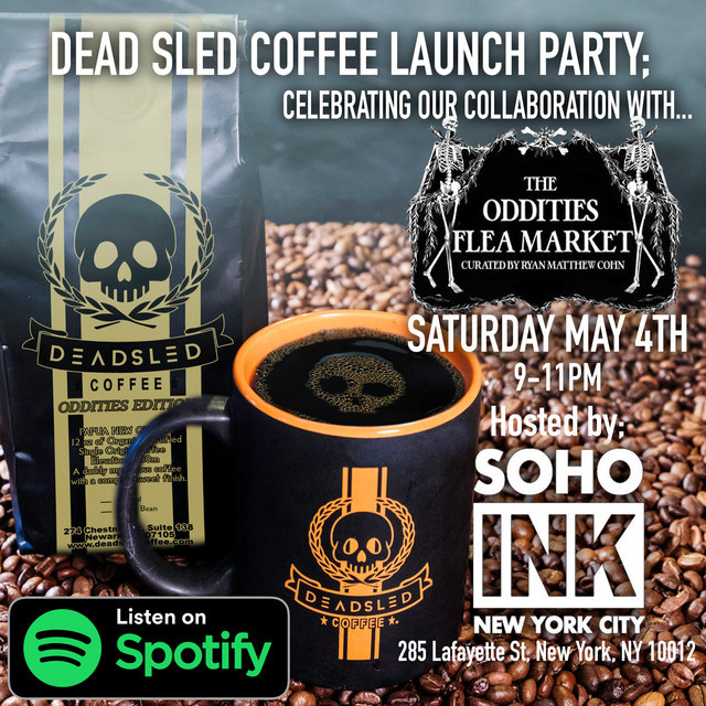 Dead Sled Coffee Launch Party