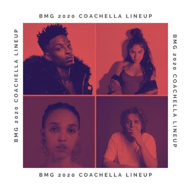 Coachella   BMG 2020 Lineup