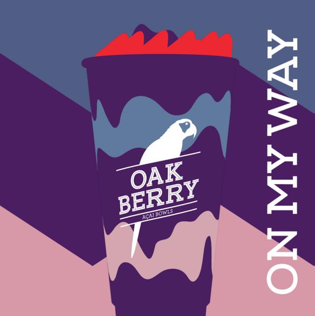 Playlist no Spotify Oakberry ON MY WAY