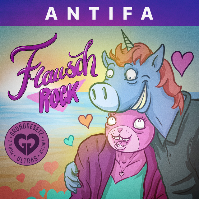 Flauschrock Antifa