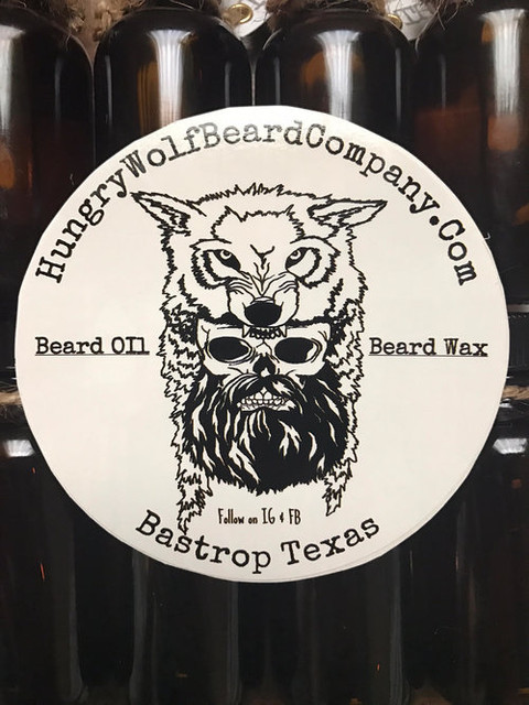 Hungry Wolf Beard Company the Unofficial OFFICIAL Beard Brand of Texas Music Scene