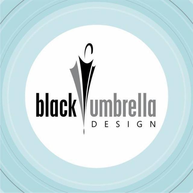 Black Umbrella Design