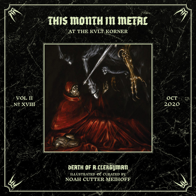 THIS MONTH IN METAL at the KVLT KORNER