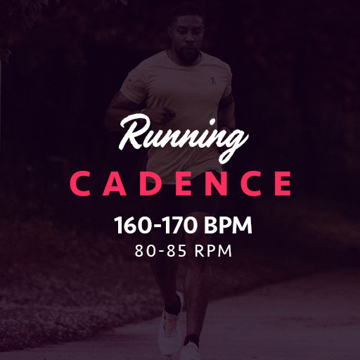 Run Cadence 160-170bpm