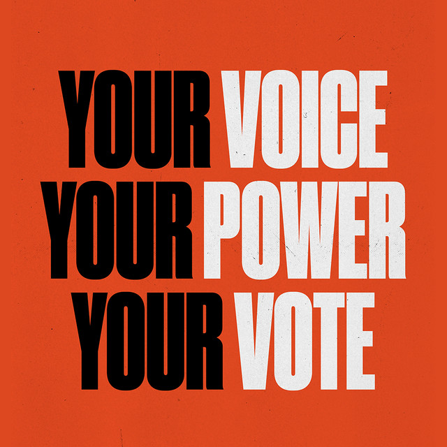 Vote 2020: Your Voice, Your Power, Your Vote