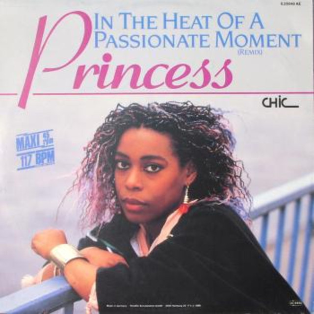 Princess - In the Heat of a Passionate Moment