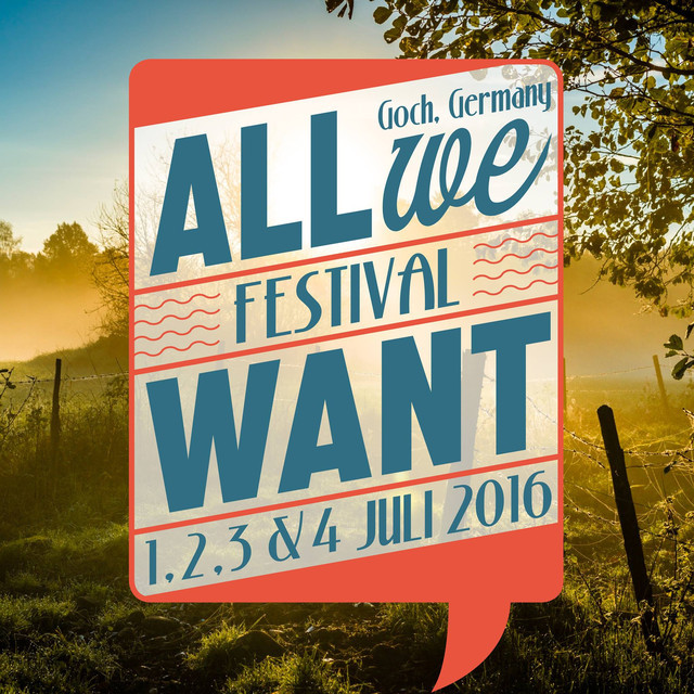 All We Want festival 2017