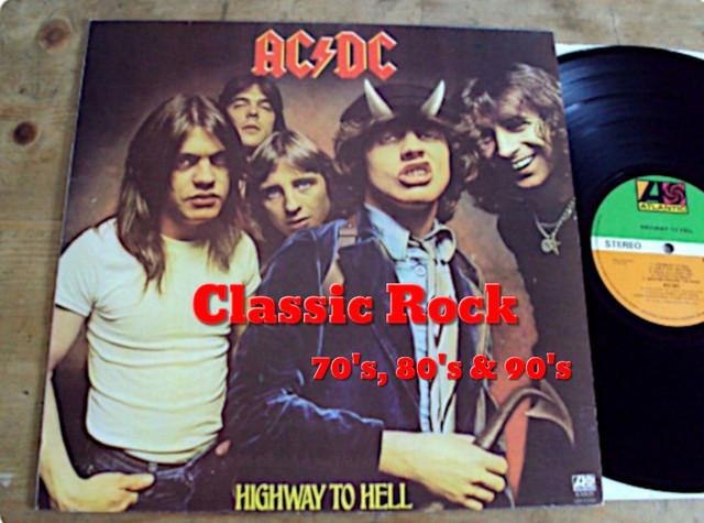 Classic Rock 70's , 80's & 90's