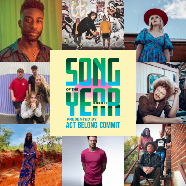 Winners   WAM Song of the Year 2021 presented by Act Belong Commit