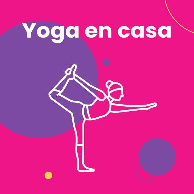 Yoga en casa 🧘🏻♀️
