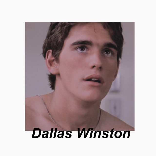 Dallas Winston On Spotify Even before pony becomes an ace storyteller, dallas acts as his muse, or inspiration. dallas winston on spotify