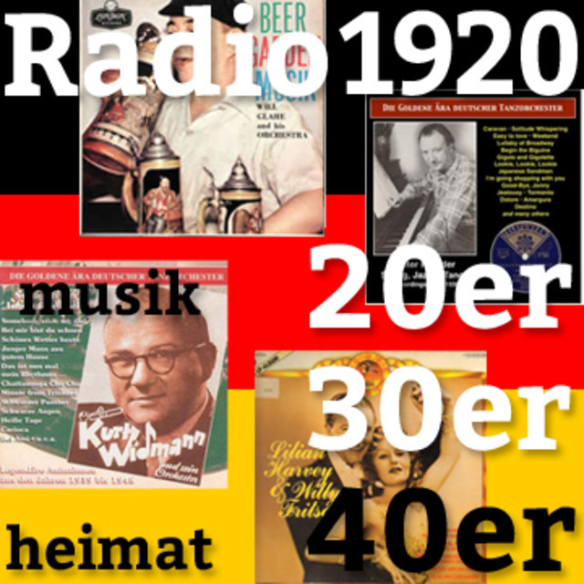 Radio 1920 20s 30s 40s German Swing Jazz Oldies Radio1920 Heimat Deutsche Musik On Spotify