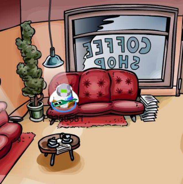 club penguin coffee shop
