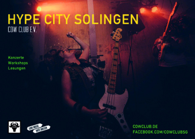 Next playing: Cow Club e.V. Solingen