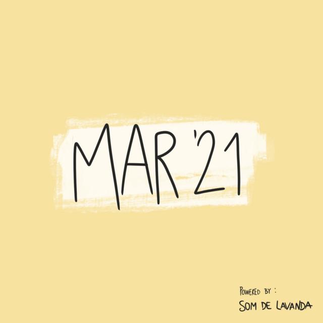 março'21 🌼