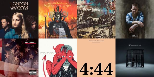 D's 20 Best Albums of 2017