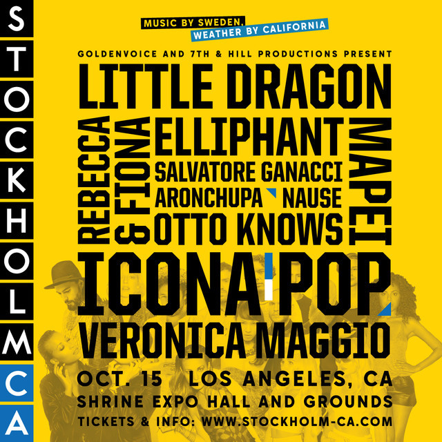 Stockholm, CA - Shrine LA, October 15th