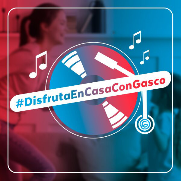 #DisfrutaEnCasaConGasco