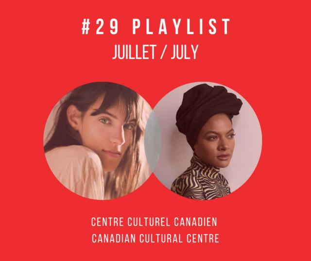 Playlist du CCC - Juillet 2021