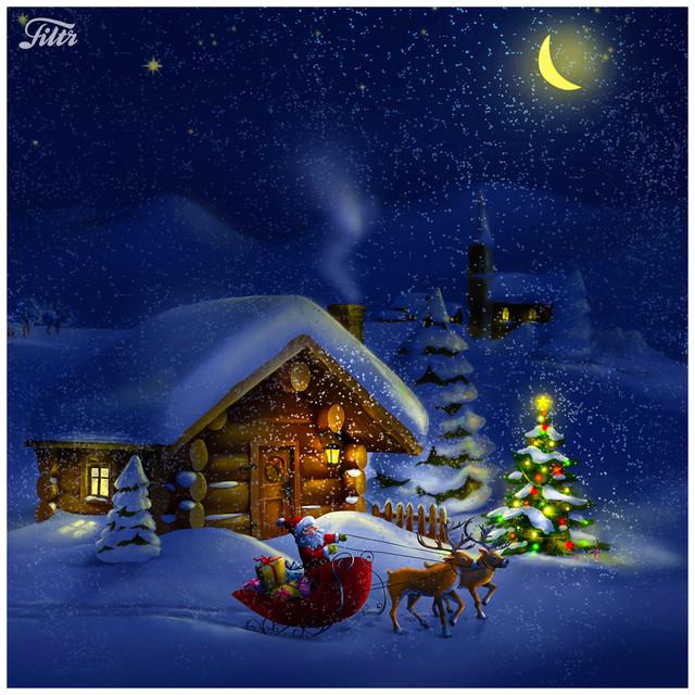 I ett hus vid skogens slut ???? (liten tomte tittar ut) & annan Julmusik för Barn)