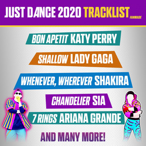 just dance track list