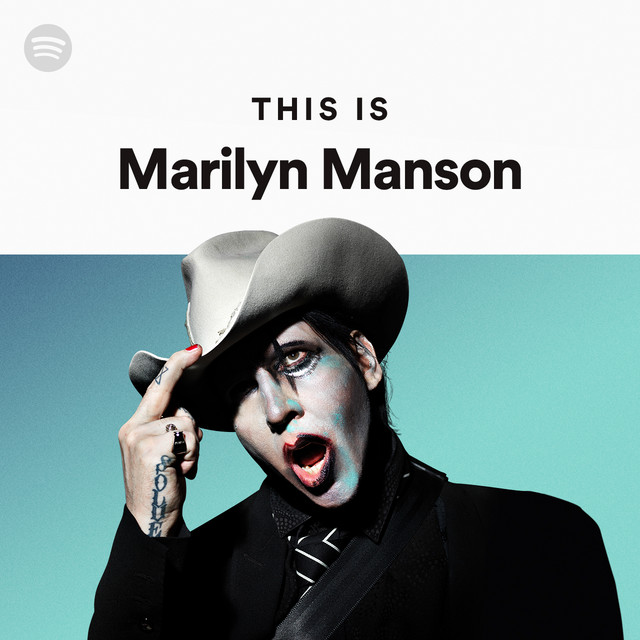 Resultado de imagen de marilyn manson music spotify