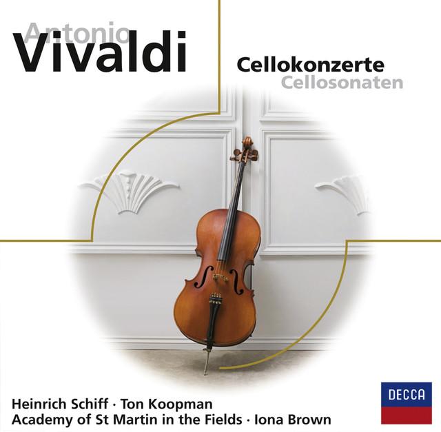 Antonio Vivaldi: Cellokonzerte Albumcover